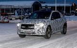 Mercedes EQA test mule