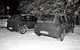 Hyundai i10 spied testing