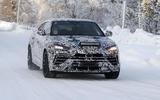 2022 Lamborghini Urus facelift prototype