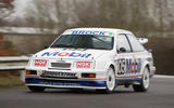 Autosport International preview - driving the Ford Sierra Cosworth RS500