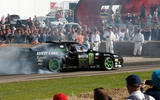 2016 Goodwood Festival of Speed burnout