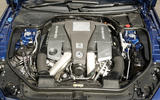 5.5-litre V8 Mercedes-AMG SL 63 engine