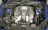 5.5-litre V8 Mercedes-AMG SL 63 engine