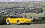 TVR Griffith before mountains