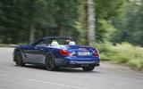 Mercedes-AMG SL 63 rear drifting