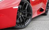 20in Lamborghini Huracan LP580-2 black alloys