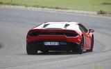 Lamborghini Huracan LP580-2 rear