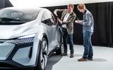 2019 Audi AI:ME concept front