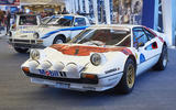 Ferrari and Mazda Group B cars