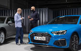 2019 Audi S4 press packet - with designer