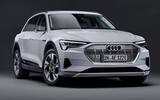 Audi E-tron 50 - front