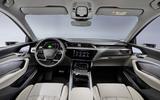 Audi E-tron 50 - interior