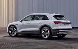 Audi E-tron 50 - rear