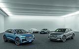 Audi EV line-up