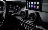 2020 Audi Q2 facelift - dashboard