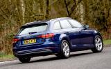 Audi A4 Avant rear