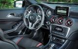 Mercedes-AMG A 45 Renntech dashboard
