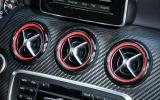 Mercedes-AMG A 45 air vents