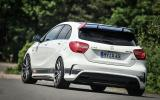 Mercedes-AMG A 45 Renntech rear cornering