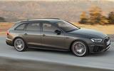 2019 Audi A4 Avant press packet - side