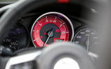 Abarth 124 Spider prototype instrument cluster