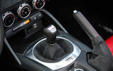 Abarth 124 Spider prototype manual gearbox