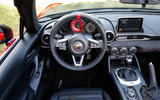 Abarth 124 Spider prototype dashboard