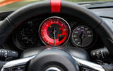 Abarth 124 Spider instrument cluster