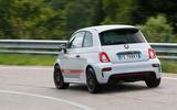 Abarth 595 Competizione rear