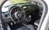 Abarth 595 Competizione dashboard