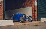 Bugatti Baby II side view