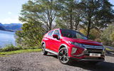 The compact Mitsubishi Eclipse Cross was the perfect vehicle in which to start our journey