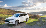 The Mitsubishi Outlander PHEV offers up 28 miles of all-electric range and enhanced fuel efficiency