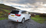 The Mitsubishi Outlander PHEV may be a plug-in hybrid, but it's also a capable off-roader