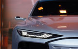 The Audi A6 Concept's Digital Matrix LED headlights are Audi's slimmest to date...