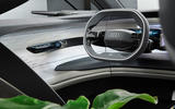 The Audi Grandsphere concept boasts a high-tech limousine-like interior unlike anything else