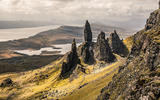 The vertiginous rocks of the Isle Of Skye are the ideal backdrop for the BMW M4's drop-top