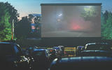 Open air drive-in cinemas seem almost perfectly designed for convertibles