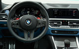 The BMW M3 and M4 boast a stripped-back but stylish driver-focused cockpit