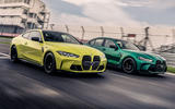 Your choice: iconic BMW M3 saloon style or sweeping BMW M4 coupé curves
