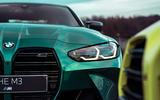 The imposing grille isn't just striking design; it's engineered for fast track driving