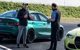 BTCC star Colin Turkington and ITV4 BTCC presenter Paul O'Neill compare notes