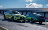 The BMW M3 and BMW M4 offer a choice of iconic saloon looks and sleek coupe style