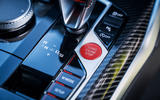 That red start button is an inviting introduction to the BMW M3 and M4