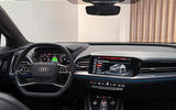 The new Q4 e-tron boasts the latest evolution of Audi's pace-setting Virtual Cockpit