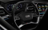 Every element of the Audi Q4 e-tron's controls is focused on the driver