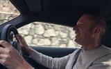 FIA World Rallycross commentator Andrew Coley took the wheel of the Toyota GR Supra in the Alps