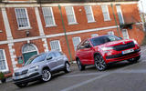 The Skoda Karoq and seven-seat Skoda Kodiaq let you choose the SUV that best fits your needs