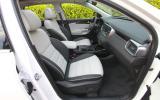 Kia Sorento front seats