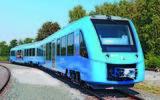 Hydrogen-fuelled train